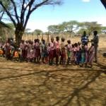 Ndonyo Lengala school Global hand washing day 2012
