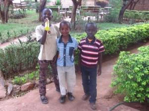 Ben Mwangi, George Mwiti, Vincent Rume